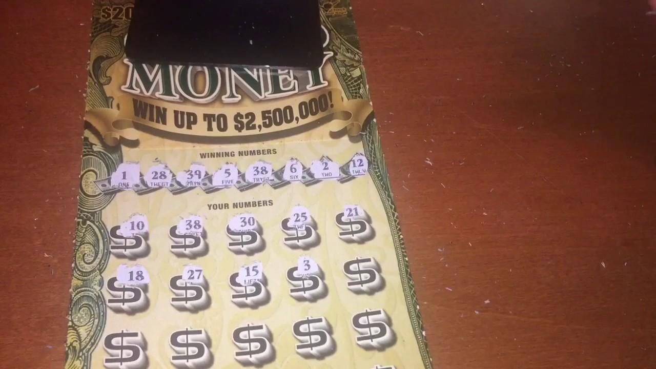 Georgia Lottery 20 Grand Money