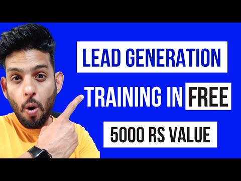 Facebook lead generation campaign In Hindi l Facebook Lead Generation Tutorial l Lead Generation