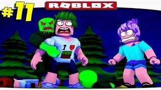 ЗОМБИ ЖРУТ МОИ МОЗГИ В ROBLOX!!!