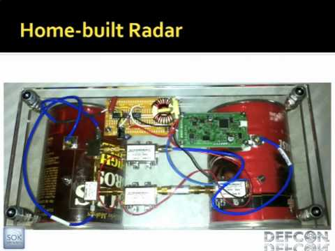 DEFCON 19: Build your own Synthetic Aperture Radar