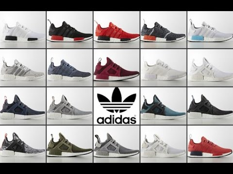 f65e6032237e 19 PAIRS OF ADIDAS NMD RELEASING