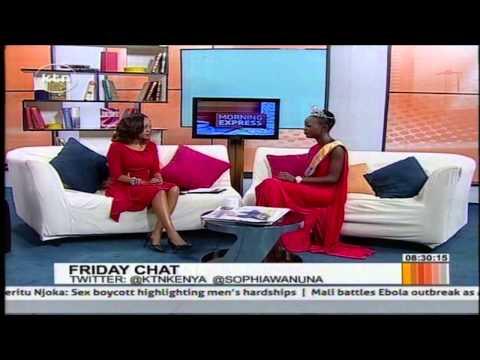 Morning Express: Friday Chat with Miss Universe Kenya Gaylyne Ayugi