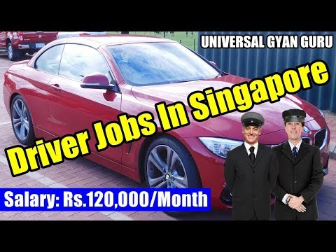 Personal Driver Jobs In Singapore..!! Latest Jobs In Singapore..!!
