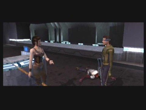 [26] Star Wars Knights of the Old Republic (Dark Side Male) Walkthrough - Rescuing Bastila |