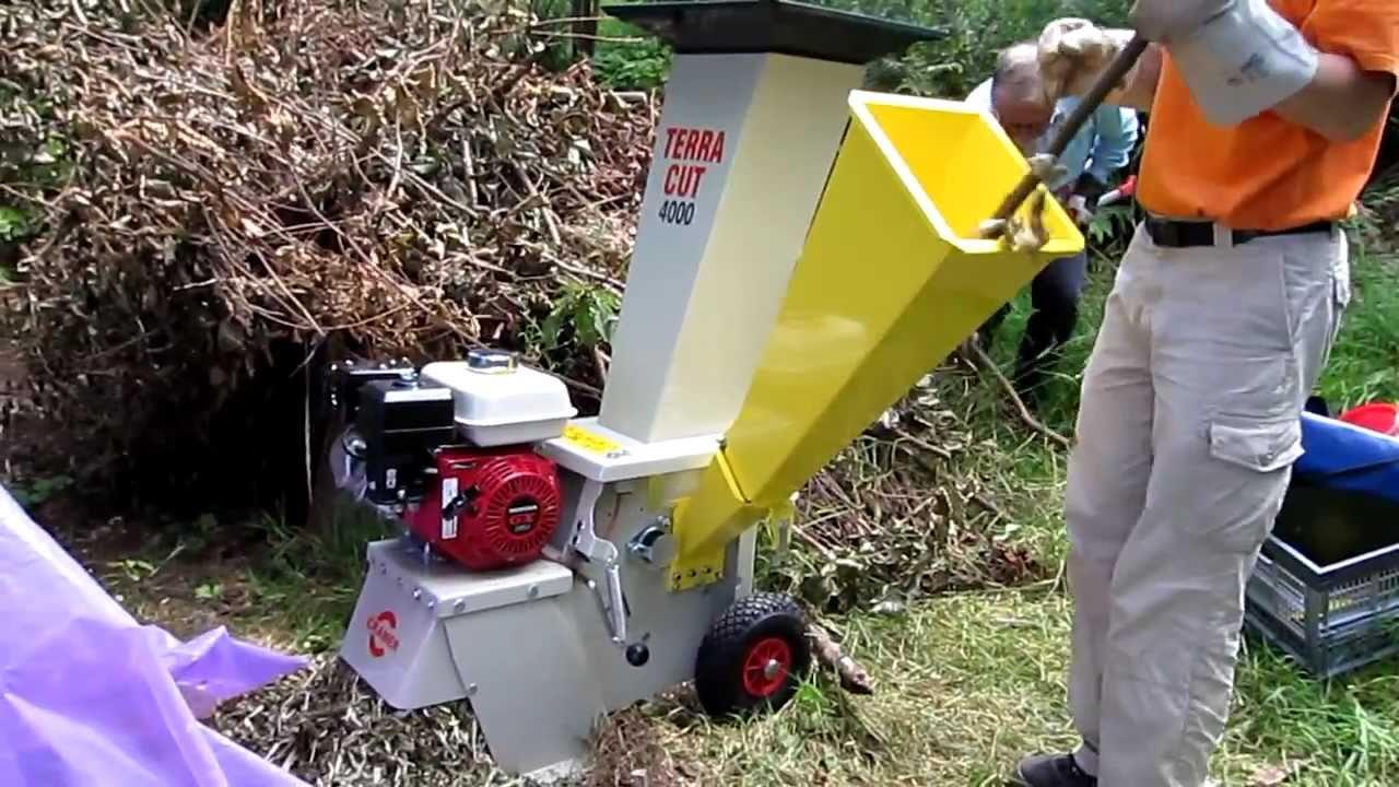cramer terra cut 4000 häcksler - youtube