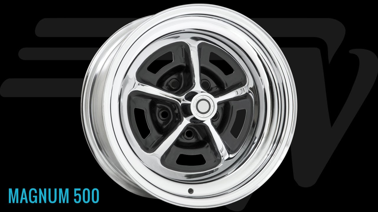 Automotive Rims And Wheels >> Wheel Vintiques Magnum 500 Styled Steel Wheel - YouTube