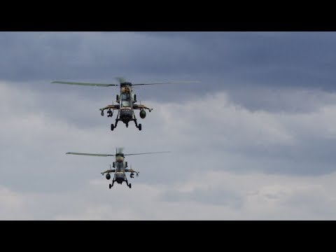ARH Tiger Helicopter - Australian Army + Airbus Helicopters