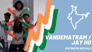 Vandematram | Jay ho | ABCD | Patriotic | Independence Day | Nation | Shraddha's Tapperz Dance Skool