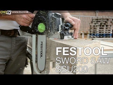 Festool Sword Saw Demo - ITS TV
