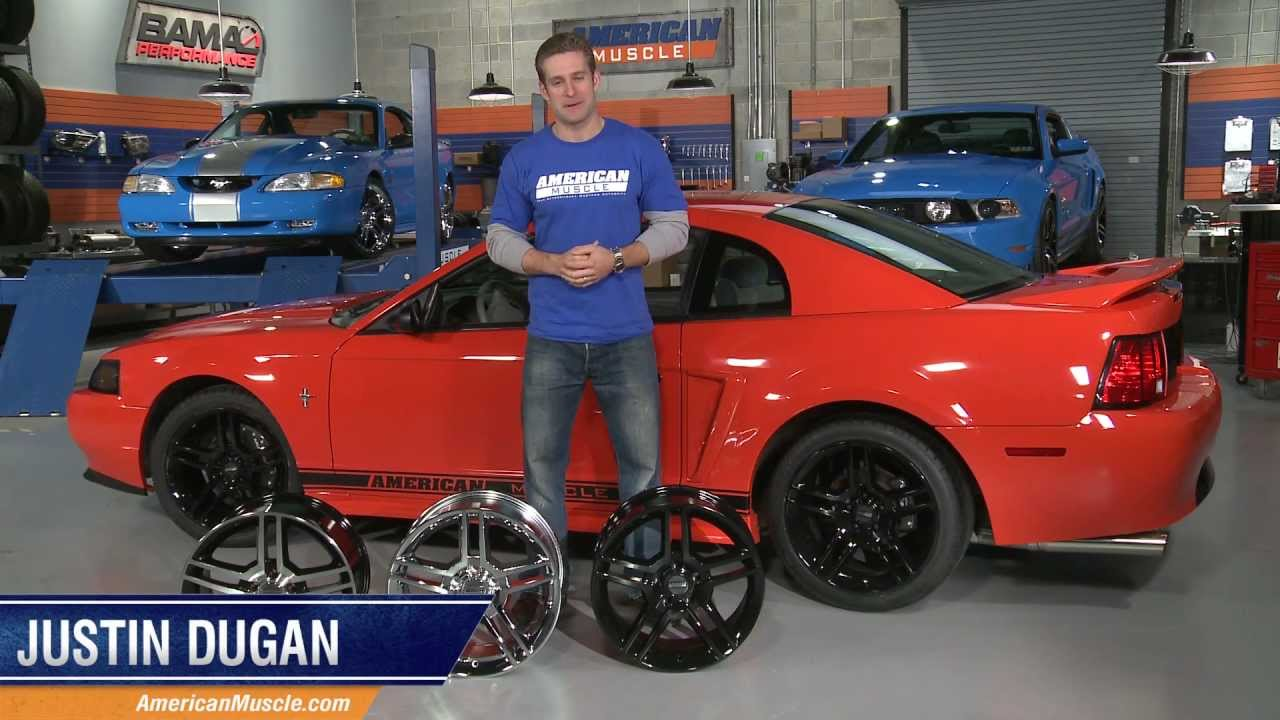 Mustang 2010 Style GT500 Wheels (94-04) Review - YouTube