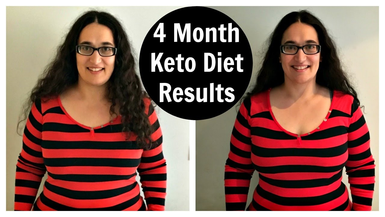 4 Month Keto Diet Results Low Carb High Fat Weight Loss