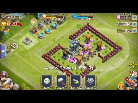 Castle Clash- Town Hall 13 And The Champion!