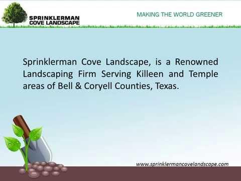 Lawn Care Killeen TX - Sprinklerman Cove Landscape