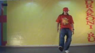 Обучающее видео popping (поппинг): old man walk