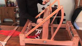 How to put a warp on your table loom Pt 1