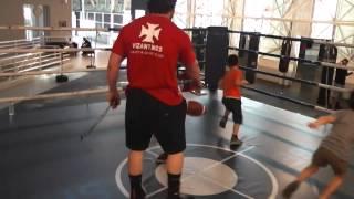 Vizantinos Target Sport Club-junior Boxing Class-kinesthetic Activities