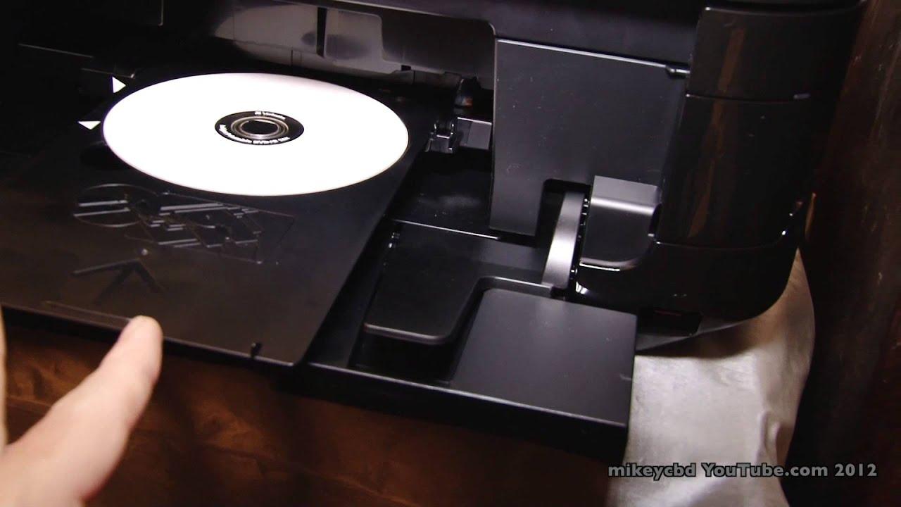 Imac And Canon Dvd Printing Mg5300 Printable Dvds Wifi