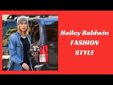 Hailey Baldwin Fashion Style