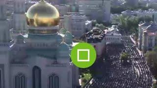 LIVE: Komunitas Muslim Moskow Merayakan Idul Fitri