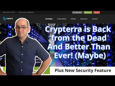 Crypterra is Back from the Dead and Better Than Ever! (Maybe)