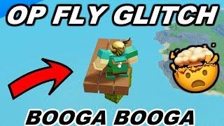 SUPER COOL BOOGA BOOGA FLY GLITCH | Roblox Booga Booga