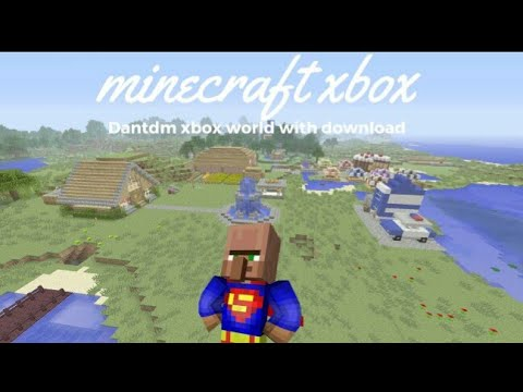 Minecraft Xbox 360/One: DanTDM World Remake map Download