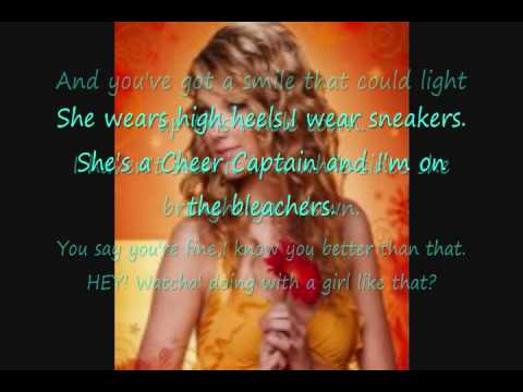 You Belong With Me by Taylor Swift (WITH LYRICS)
