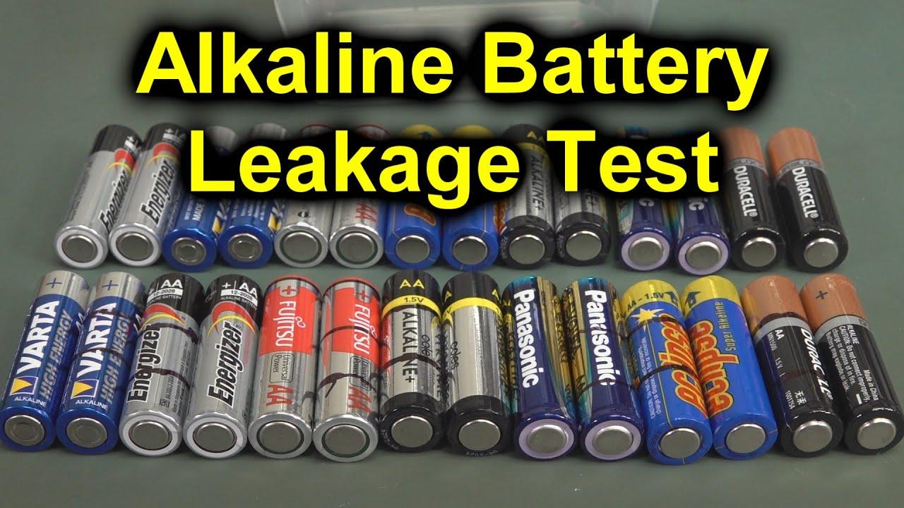 Eevblog 1274 Long Term Alkaline Battery Leakage Testing Youtube
