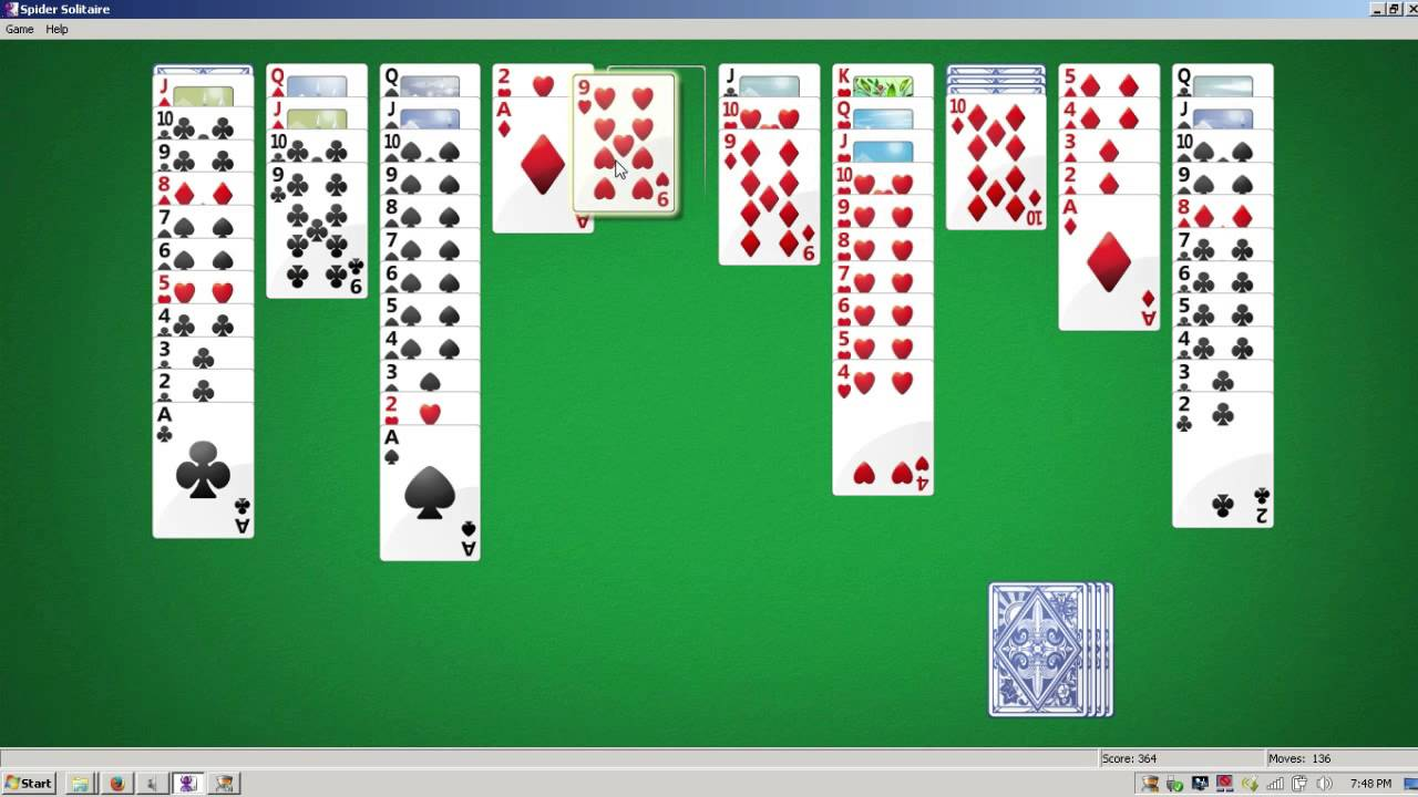 Solitaire - How to Win Every Single Time - YouTube