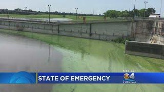 Algae Causes U.S. Army Corps Of Engineers To Suspend Lake Okeechobee Water Discharges