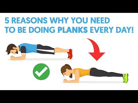 5 Reasons Why You Need To Be Doing Planks Every Day!