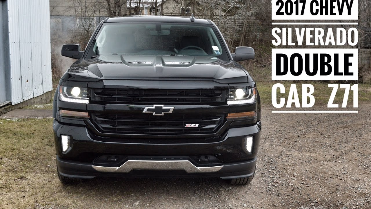 2017 Chevrolet Silverado Z71 Dbl Cab Road Test & Review ...