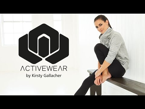 Kirsty Gallacher: NEW Activewear Range | Behind the Scenes