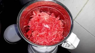How to make Pomelo juice ( babloos orange )