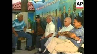 USA: MIAMI: CUBAN EXILES ANGUISH OVER POPE
