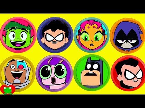 Teen Titans Go! Play Doh Surprises