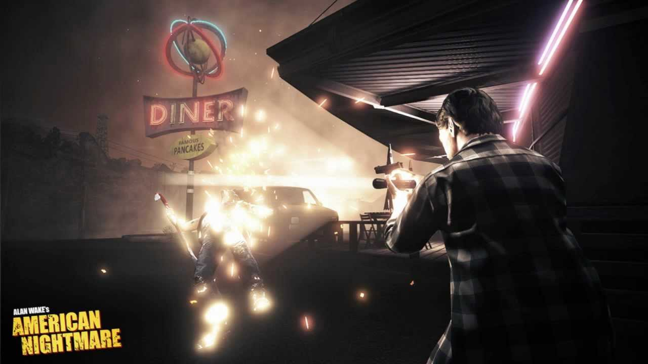 Alan Wake's American Nightmare End Credits Song - Watching the Sun Come Up - Ed Harcourt