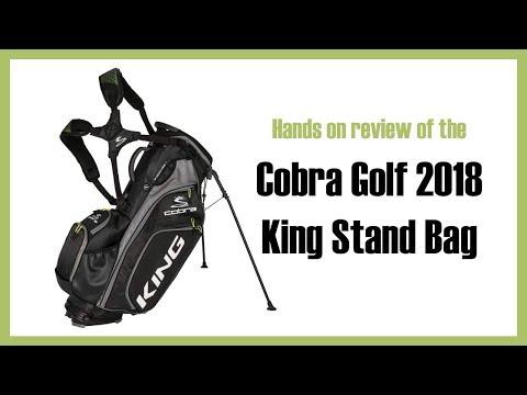 8ca389cc9d2 Review of Cobra Golf 2018 King Stand Bag The Digestive Golfer. Puma ...