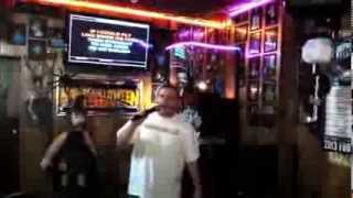 "Donna's Bar Karaoke: Stevie B. ""Beyond The Sea"""