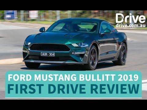Ford Mustang Bullitt 2019 First Drive Review | Drive com au