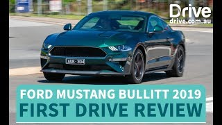 Ford Mustang Bullitt 2019 First Drive Review | Drive.com.au
