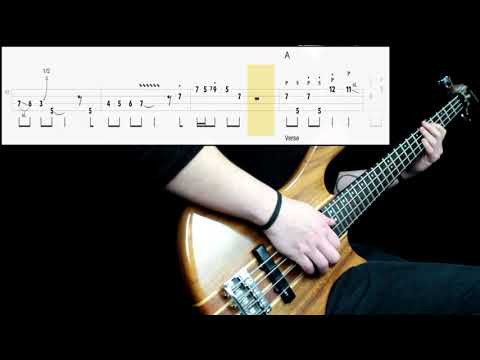 Foghat - Slow Ride (Bass Cover) (Play Along Tabs In Video)