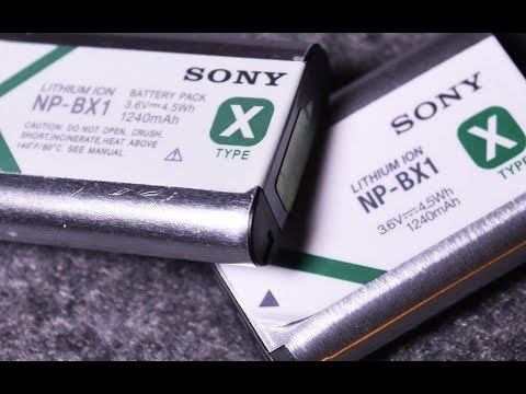 How to spot Fake Sony Battery: Counterfeit product (NP-BX1)