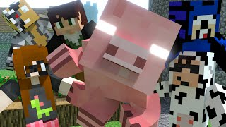 Herobrine Pig - Original Minecraft Animation by MrFudgeMonkeyz