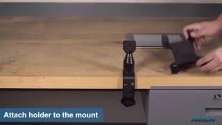 Ipad Tripod Mount Ipad Air Tripod Clamp Mount Android Tablet Tripod Mount | Arkon Tab086