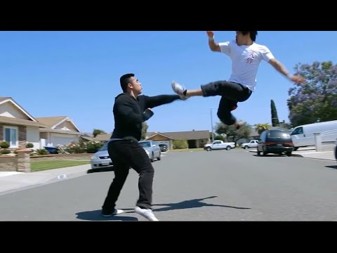 MARTIAL ARTIST VS STREET THUGS