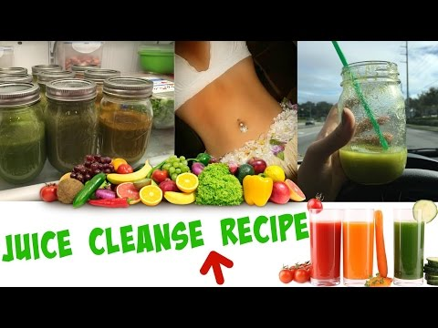 Juice Cleanse Recipe for Weight Loss!