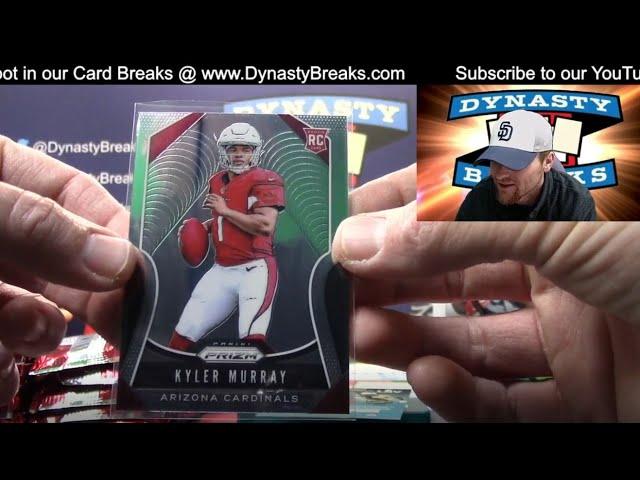 2018 2019 Prizm Football Card 2 Box Partial Case Break #3   Sports Cards