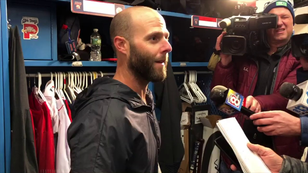 Dustin Pedroia Press Conference May 2, 2019