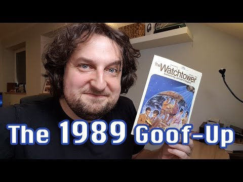 The 1989 Goof-Up